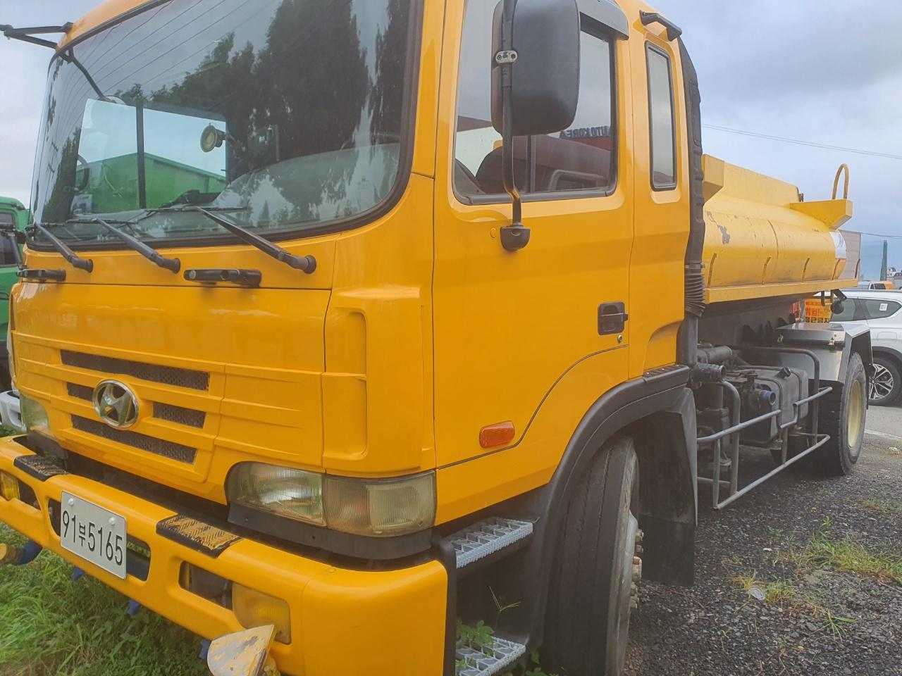 8.5톤살수차